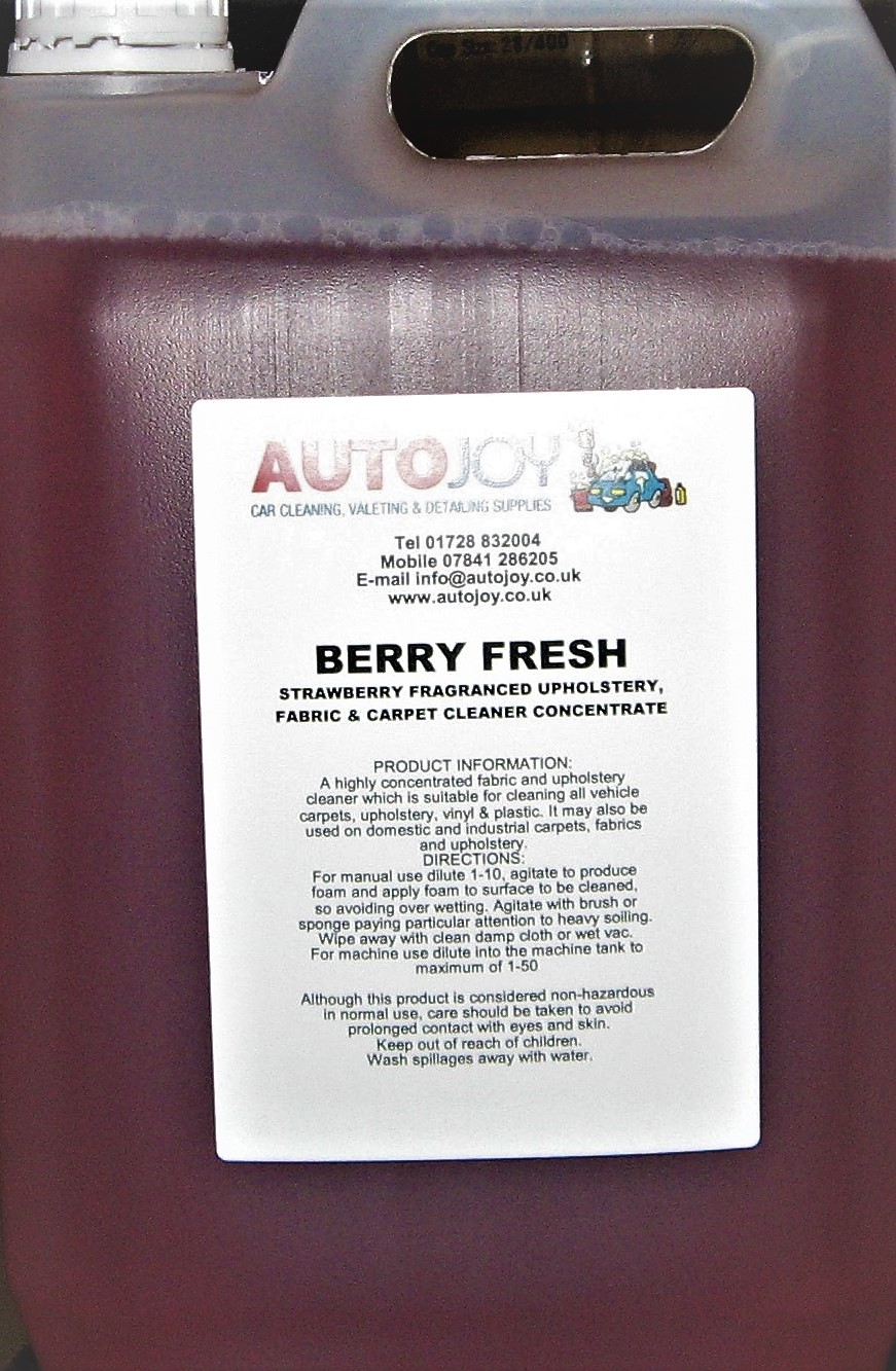 Autojoy Berry Fresh Upholstery & Carpet Cleaner 5 Litre